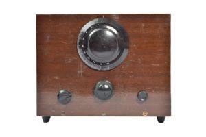 Home Built valve crystal set radio