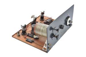 Home Built valve radio receiver