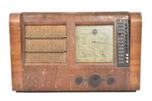 Ekco PB289 valve table radio