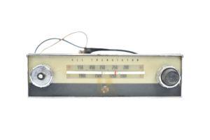 Pye Model P1000T Car radio