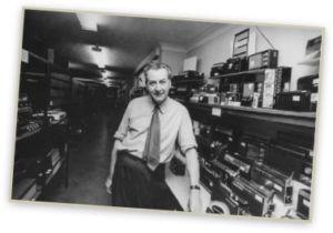Roy Snellings in radio department